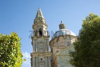Kirche Madonna di San Biagio, Montepulciano, Toskana, Italien