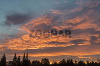 Morgenstimmung, Gaellivare, Lappland