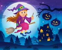 Cute witch theme image 5
