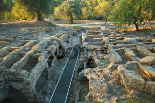 Palaeo-Christian necropolis, Agrigento