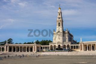 Fatima, Basilica Antiga in Portugal - Sanctuary of Fatima in Portugal, Basilica Antiga