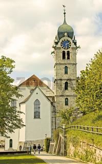 Reformierte Kirche Eglisau,  Kanton Zürich, Schweiz