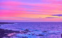 Fantastic sky at sundown