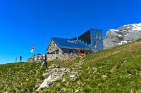 Rambert hut, Cabane Rambert, of the Swiss Alpine Club, Ovronnaz, Switzerland