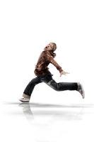 Junge rennt wd716