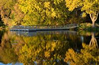Autumn Colors Reflected on a Lake