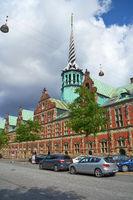 The Stock Exchange building in central Copenhagen.