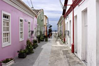 Gasse in Porto Seguro, Bahia, Brasilien, Südamerika