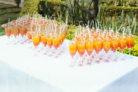 beautiful party in the garden