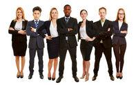 Erfolgreiches Business Team als Gruppe