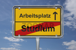 Ende Studium, Anfang Arbeitsplatz | end of studies, beginning job