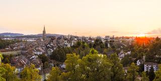 Sonnenuntergang Berner Altstadt