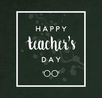 Teacher's Day Card