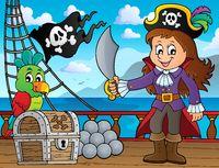 Pirate girl theme image 3