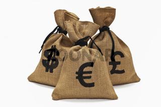 verschiedene Währungen | different currencys