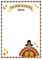 Thanksgiving menu theme image 3