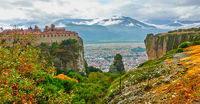 Meteora in the autumn