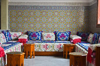 Traditional Moroccan interior design