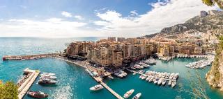 Monaco Fontvieille cityscape