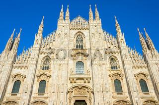 Milan Cathedral (Duomo Milano). Italy