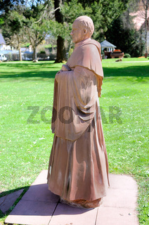 Mönch aus Sandstein
