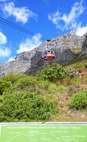 at Table Mountain, Cape Town, South Africa