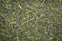 Kabusecha green tea background