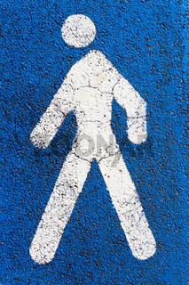 Piktogramm Fußgänger