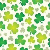 Three leaf clover seamless background 1
