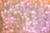 Warm pinkish lights bokeh