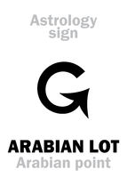 Astrology: ARABIAN LOT