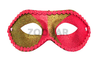 masquerade mask isolated on white background