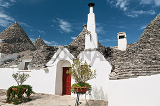 Typical Trullo in Alberobello, Puglia, Italy