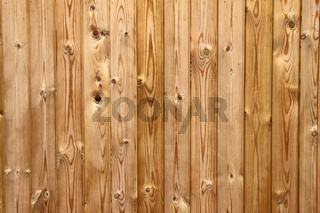 Wooden planks fence close up.