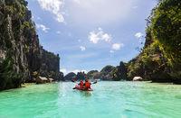 Kayak in Palawan