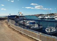 Harbor of Dehesa de Campoamor. Spain