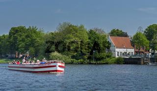 Bootsfahrt in Friedrichstadt