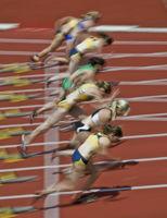 100m-start - Women
