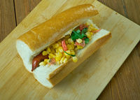 Gourmet cheese dogs