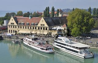 Lindau Hafen - Lindau Harbour Lake Constance