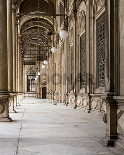 Passages surrounding the inner court of Muhammad Ali Pasha Mosque
