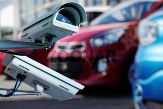 CCTV camera or surveillance system for car dealer monitoring