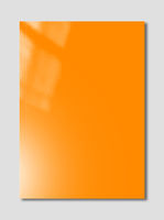 Orange Booklet cover template