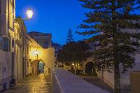The Rua da Barroca late evening
