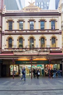 Washington H Soul, Pattinson company limited building on George street, Sydney, Australia
