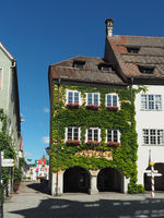 City hall of Isny im Allgäu