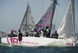 2010 Melges 32 World Championship 8th race, sept 24