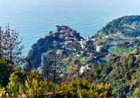 View of Riomaggiore. Italy