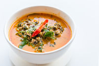 River snail red curry