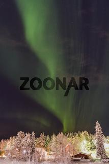 Nordlicht (Aurora borealis), Gaellivare, Lappland